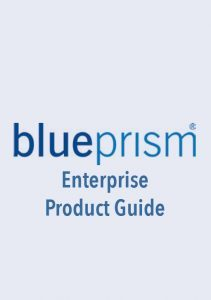 Blue Prism Enterprise Product Guide