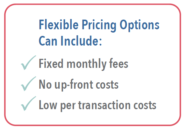 OCR Invoice processing and accounts payable flexible pricing